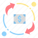 dealing, exchange, finance, purchase, transaction icon