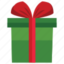 box, christmas, gift, holiday icon
