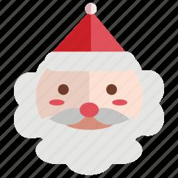 christmas, claus, holiday, santa, santa claus icon