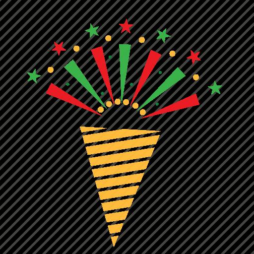celebration, fun, horn, party icon