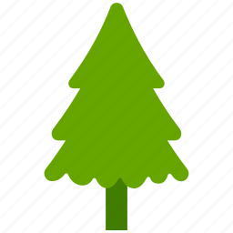 ecology, evergreen, forest, tree icon