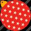 ball, christmas, holiday, star icon