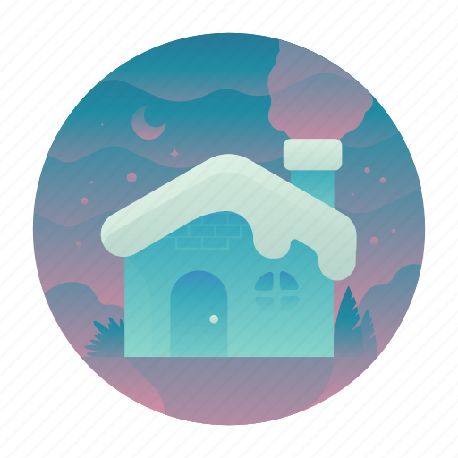 Cabin, christmas, house, snow icon - Download on Iconfinder