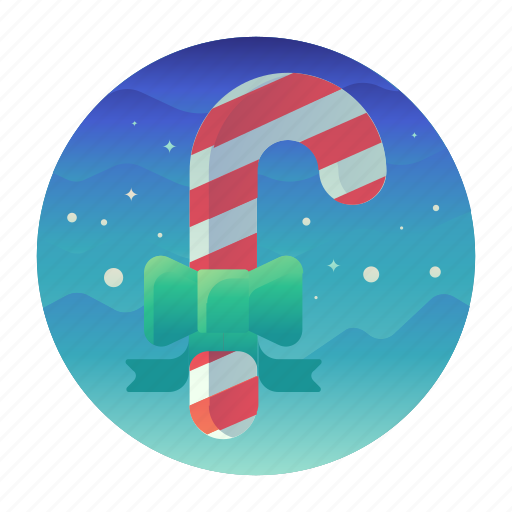 candy, cane, christmas, sweets icon