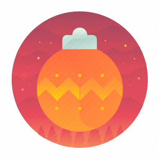 christmas, decoration, ornament, tree icon