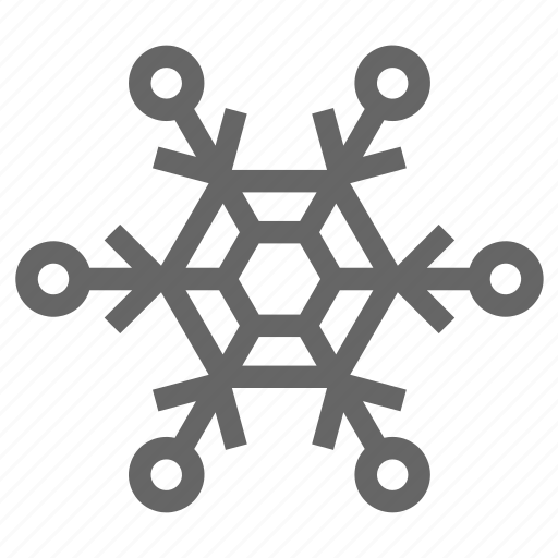 christmas, cold, flake, ice, snowflake, winter icon