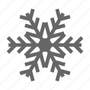 christmas, ice, snow, snowflake, winter icon