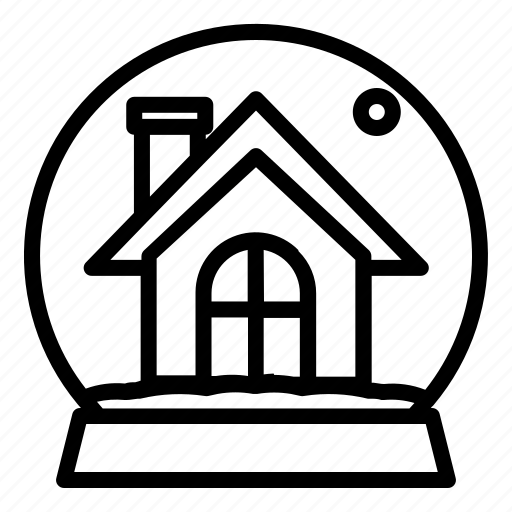 Building, christmas, home, house, snow, winter, xmas icon - Download on Iconfinder