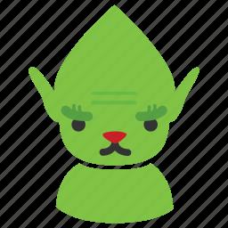 character, christmas, christmas elf, elf, fantasy, grinch, xmas icon