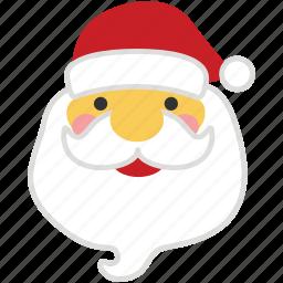christmas, gift, holiday, present, santa, santa claus, xmas icon