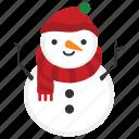 snowman, winter, christmas, snow, xmas, doll, happy