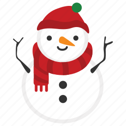 christmas, doll, happy, snow, snowman, winter, xmas icon