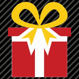 box, christmas, decoration, gift, present, prize, xmas icon