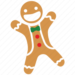 baked man, christmas, decoration, dessert, ginger man, gingerbread, xmas icon