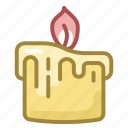 candle, christmas, fire, holiday, new year, winter, xmas icon