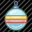 ball, christmas, decoration, holiday, new year, toys, xmas icon