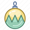 ball, christmas, decoration, holiday, new year, winter, xmas icon