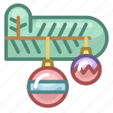 branch, christmas, decoration, holiday, new year, tree, xmas