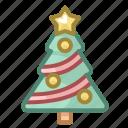 christmas, decoration, holiday, new year, tree, winter, xmas icon