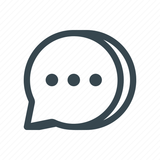 chat, comment, dialogue, message, messenger, sms, text icon