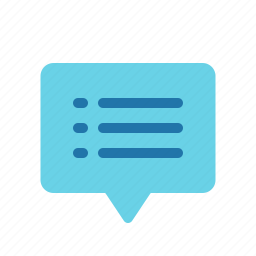 chat, list, message, messenger, text icon