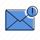 cancel, error, letter, mail, message, send icon