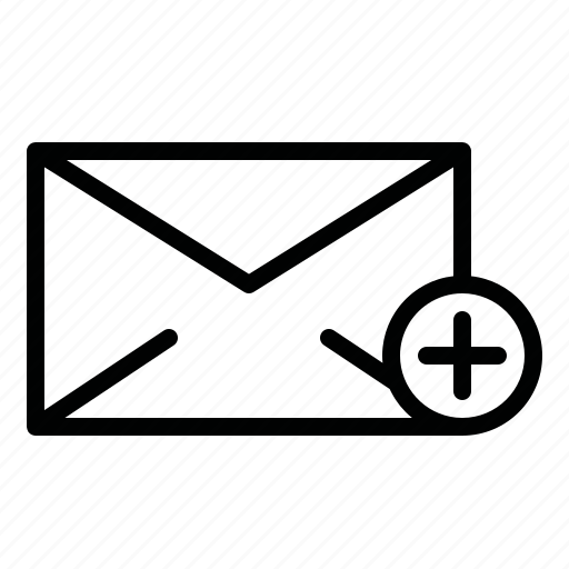 add, add message, chat, email, letter, mail, message icon
