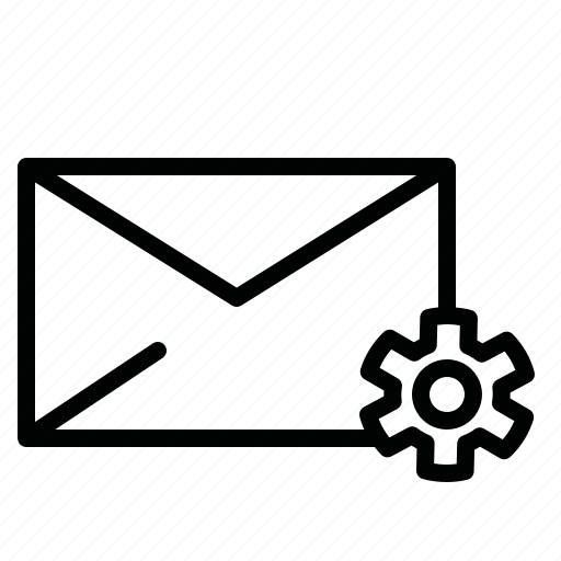 chat, email, letter, mail, message, message settings, setting icon