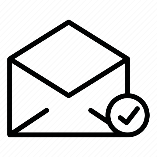 chat, email, mail, message, opened, opened message, talk icon