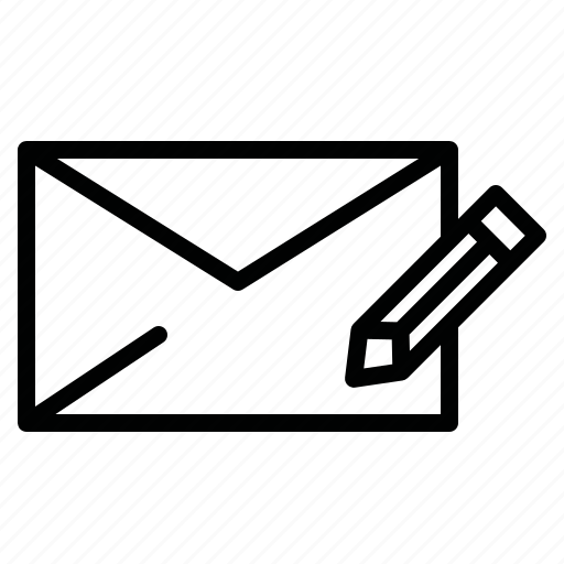 chat, letter, mail, message, text, write, write a message icon