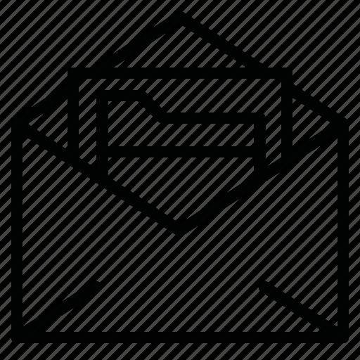 file, file message, folder, format, letter, mail, message icon