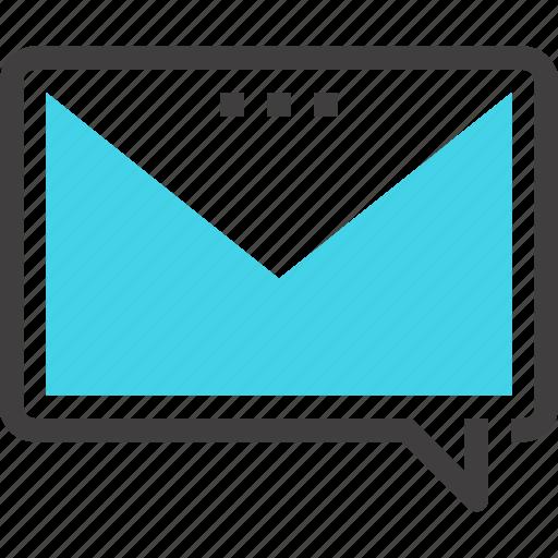 bubble, chat, communication, conversation, email, message, speech icon