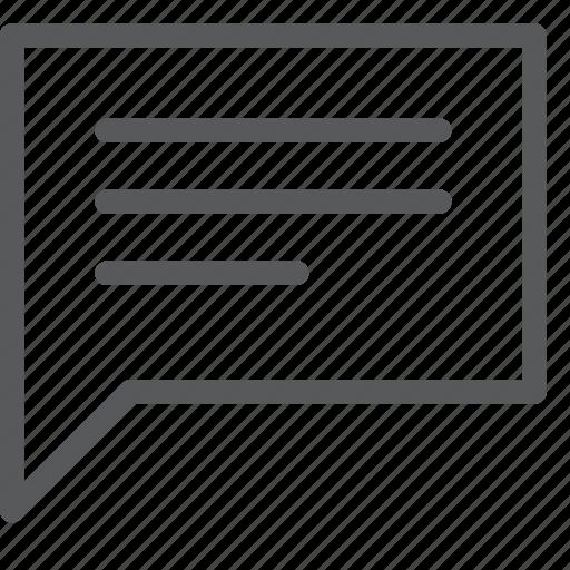 bubble, chat, communication, conversation, message, talk, text icon