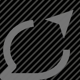 arrow, bubble, chat, communication, conversation, message, send, text icon