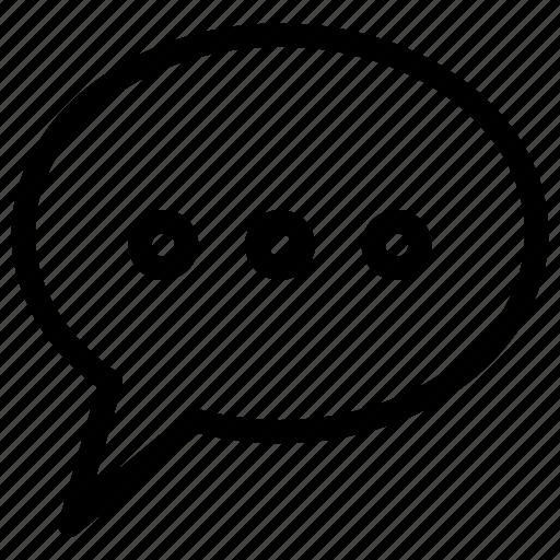 bubble, chat, communication, message, talk icon