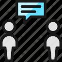 conversation, chat, bubble