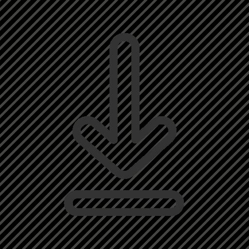 communication, download, message, messenger, ui icon