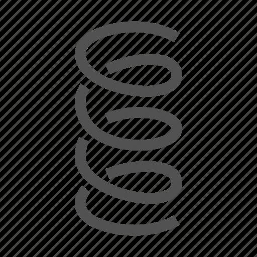 Spring Coil Icon