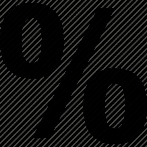 percent, tax icon