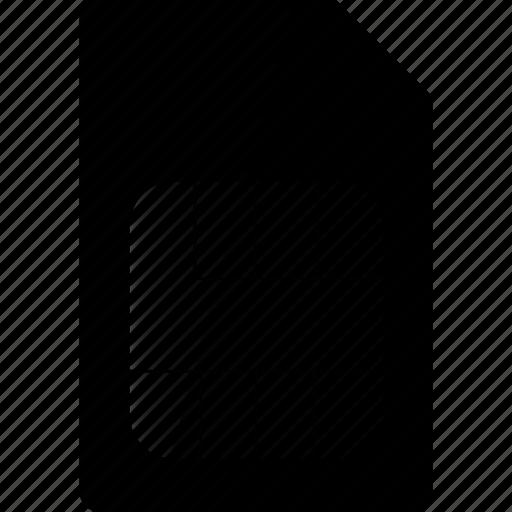 card, sim, simcard icon
