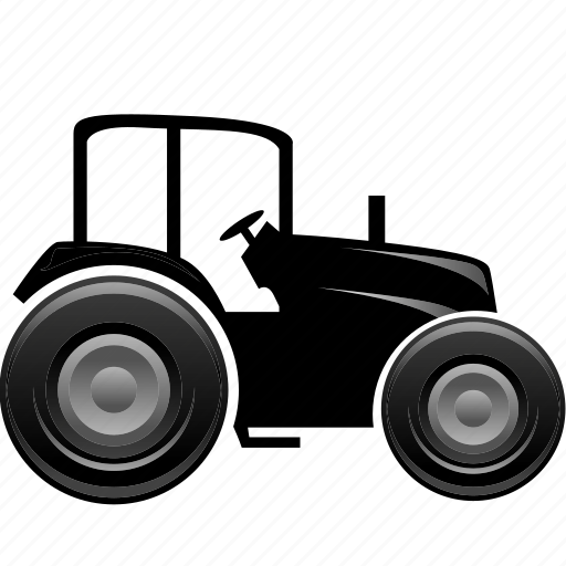 agreeculture, harvester, tractor, traktor, transportation icon