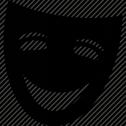 face, man, mask, movie, role, theatre icon