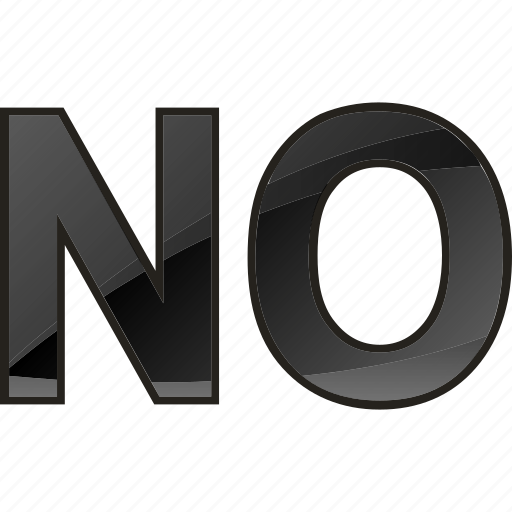 delete, exit, negation, no entry, vote icon