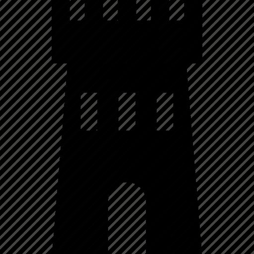 chess, guard, skyscraper, tower icon