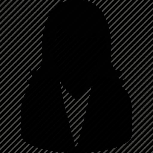 female, girl, lady, user, woman icon