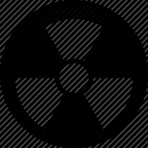 atom, nuclear, radiation, radioactive icon