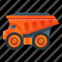 business, car, dump, technology, truck