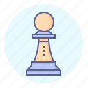 chess, chessman, game, opening, pawn, piece, strategy icon