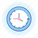 clock, clockwise, clockwork, lapse, passage, progress, time icon