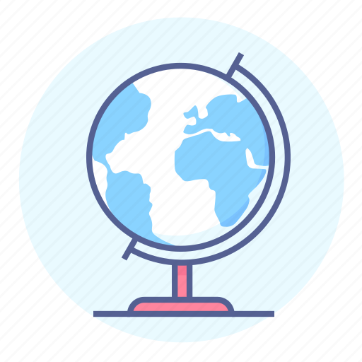 around the world, earth, geography, globe, the earth, world, worldwide icon